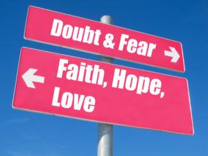 change fear to love