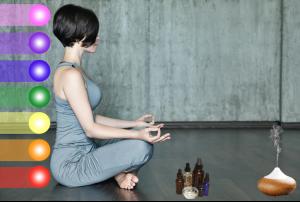chakra balancing with oils