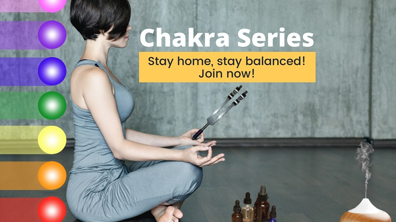 chakra balance with oils and tuning forks