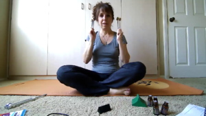 Dr. Michele listening to Ohm unison